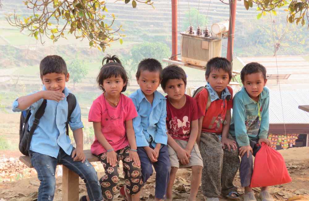 Donors Worldwide Supporting Education in Nepal Image