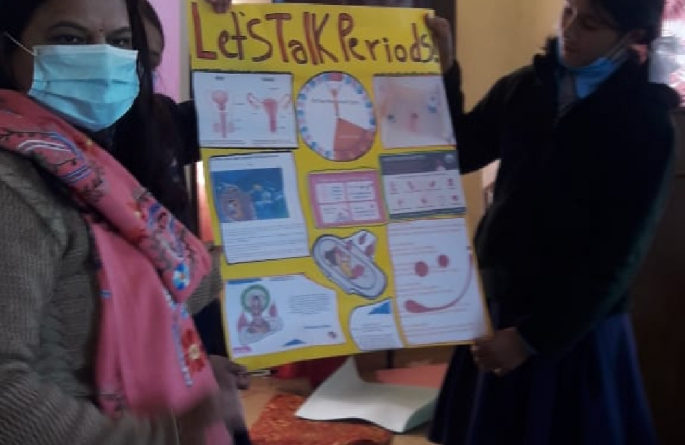 Menstrual Hygiene Management Report Image